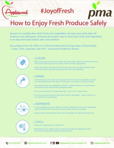 Enjoy Fresh Produce Safely
