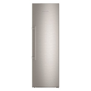 Liebherr GNef4335 268 Litre Freestanding Upright Freezer 185cm Tall Frost Free 60cm Wide - Stainless Steel