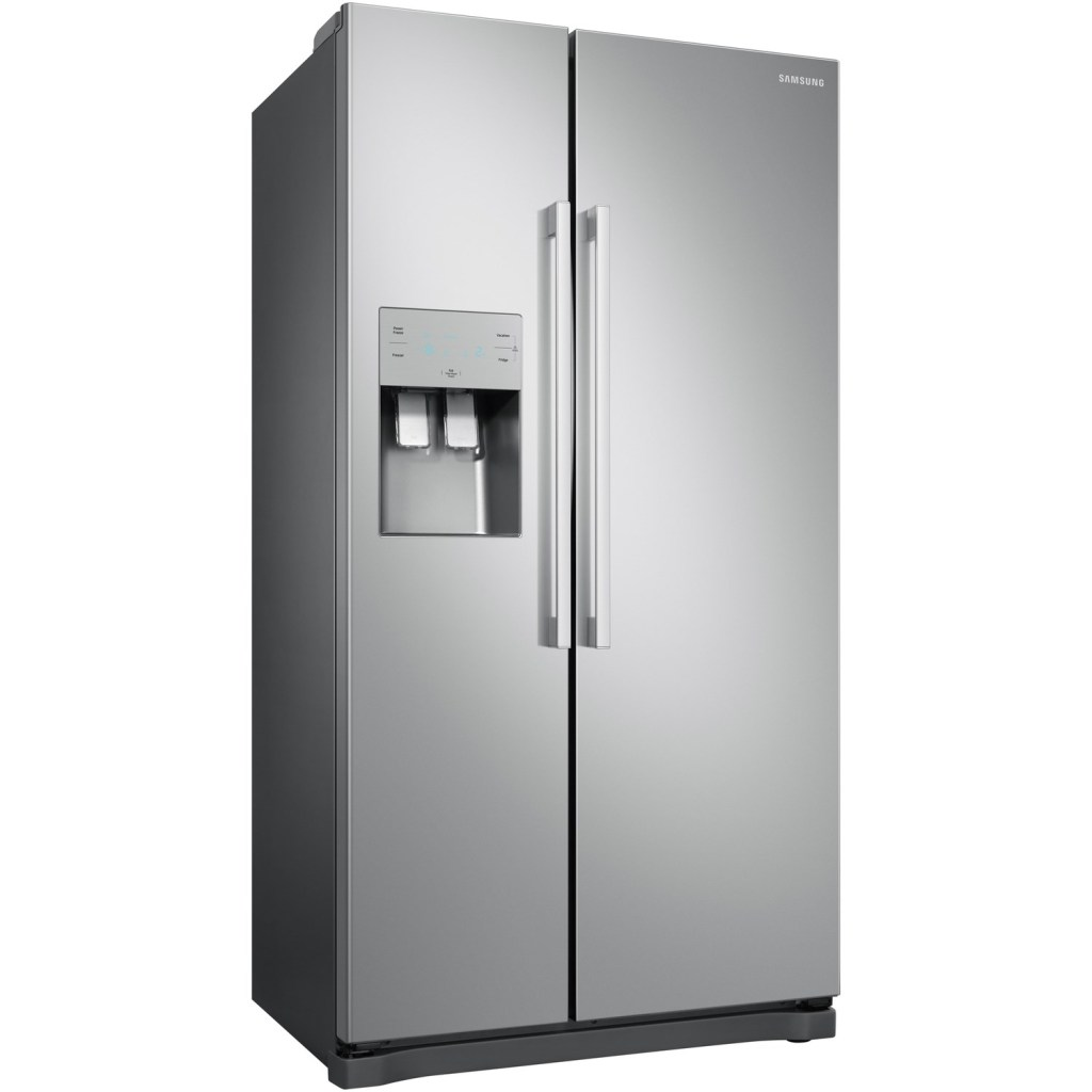 GRADE A3 - Samsung RS50N3513SA No Frost Side-by-side Fridge Freezer With Ice And Water Dispenser - Metal Graphite