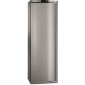 GRADE A3 - AEG AGE62526NX 229 Litre Freestanding Upright Freezer 185cm Tall Frost Free 60cm Wide - Stainless Steel