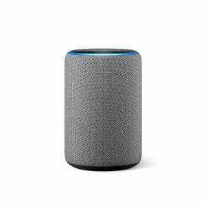Amazon Echo 3rd Gen - Smart Speaker with Alexa - Heather Grey
