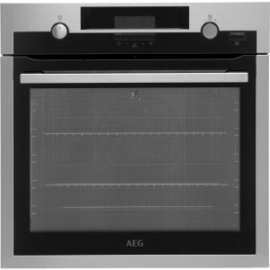 AEG Mastery BPS552020M Integrated Single Oven in Stainless Steel