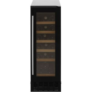 Amica AWC300BL Free Standing Wine Cooler in Black