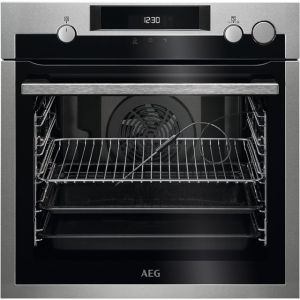 AEG BSE577221M Integrated Single Oven in Stainless Steel