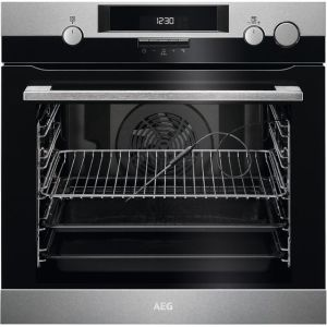 AEG BSK574221M Integrated Single Oven in Stainless Steel
