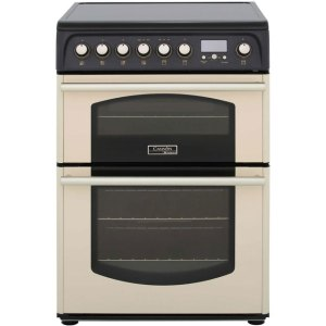 Cannon by Hotpoint Traditional CH60ETCS Free Standing Cooker in Cream