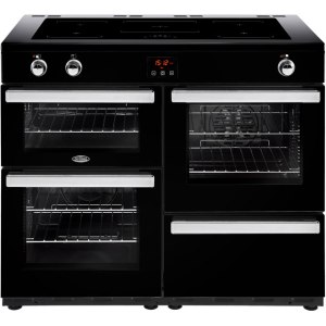Belling Cookcentre110Ei Free Standing Range Cooker in Black