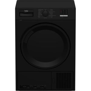 Beko DTLCE70051B Free Standing Condenser Tumble Dryer in Black