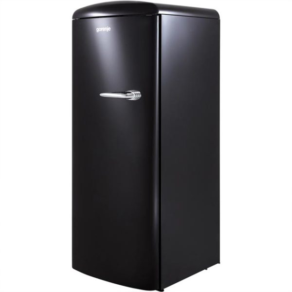 Gorenje Retro Collection ORB153BK-L Free Standing Refrigerator in Black