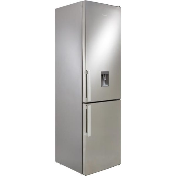 Hotpoint Day1 H7T911AMXHAQUA Free Standing Fridge Freezer Frost Free in Mirror Finish