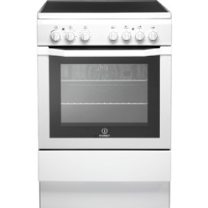 Indesit I6VV2AW Free Standing Cooker in White