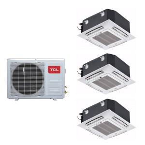 Multi-Split 24000 BTU Inverter Air Con with 3x 9000 BTU Indoor Units