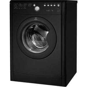 Indesit Eco Time IDVL75BRK Free Standing Vented Tumble Dryer in Black
