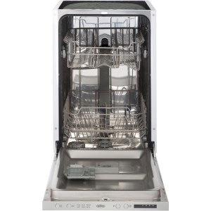 Belling IDW45 Integrated Slimline Dishwasher in Stainless Steel