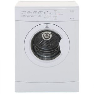 Indesit Eco Time IDVL75BR Free Standing Vented Tumble Dryer in White