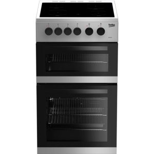 Beko KDC5422AS Free Standing Cooker in Silver