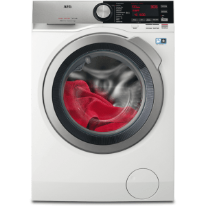 AEG OkoMix Technology L8WEC166R Free Standing Washer Dryer in White