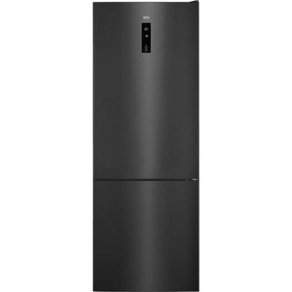 AEG RCB73423TY Free Standing Fridge Freezer Frost Free in Dark Grey