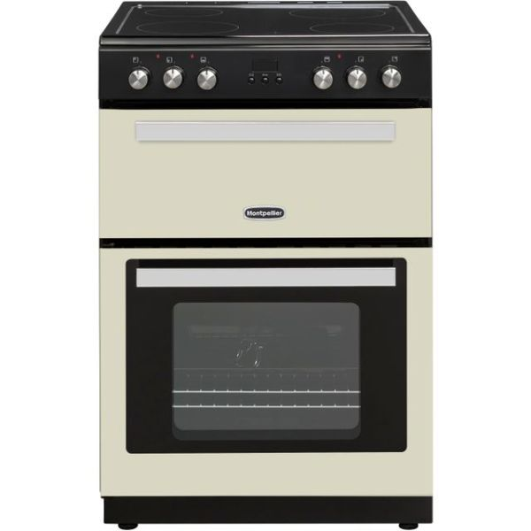 Montpellier RMC61CC Free Standing Cooker in Cream