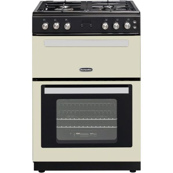 Montpellier RMC61GOC Free Standing Cooker in Cream