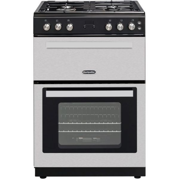 Montpellier RMC61GOX Free Standing Cooker in Stainless Steel