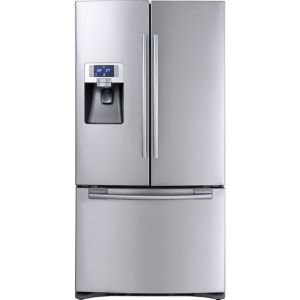 Samsung G-Series RFG23UERS Free Standing American Fridge Freezer in Stainless Steel