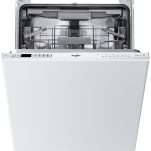 Whirlpool WIC3C23PEFUK Integrated Dishwasher in Silver