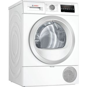Bosch Serie 6 WTR88T81GB Free Standing Heat Pump Tumble Dryer in White
