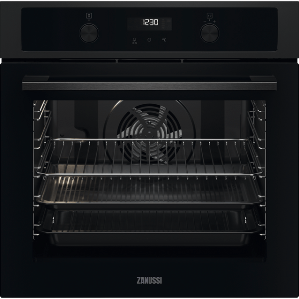 Zanussi ZOPNA7K1 Integrated Single Oven in Black