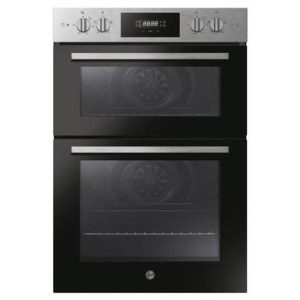 Hoover HO9DC3UB308BI H-OVEN 300 9 Function Electric Built-in Double Oven With Hydrolytic Cleaning - Black
