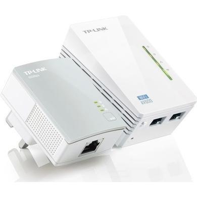 TP-Link AV500 600 Mbps 2 Port Powerline Adapter - 2 Pack