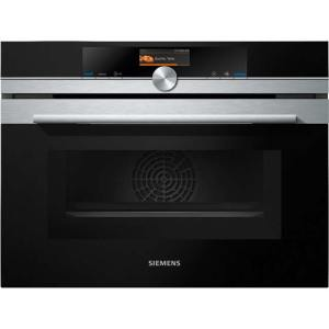 Siemens IQ-700 CM656GBS6B Built In Compact Electric Single Oven with Microwave Function - Stainless Steel