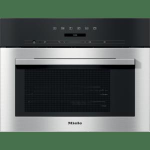 Miele ContourLine DG7140 Built In Compact Steam Oven - Clean Steel
