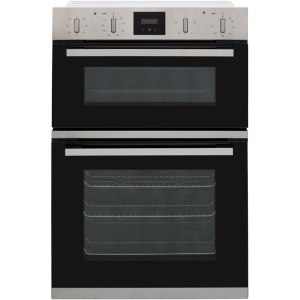 NEFF N30 U1GCC0AN0B Built In Double Oven - Stainless Steel - A/B Rated