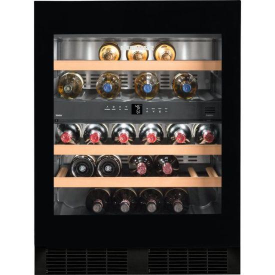 Liebherr UWTgb1682 Built In Wine Cooler - Black / Glass - B Rated