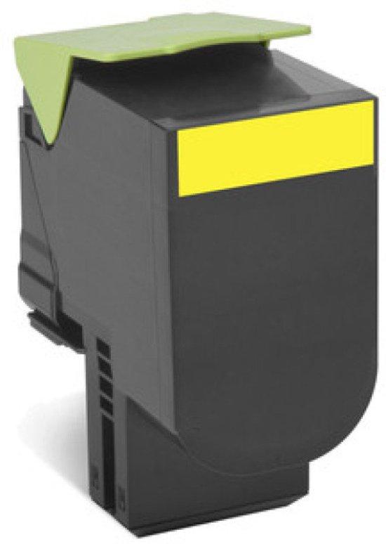 Lexmark 702HY High Yield Yellow Toner Cartridge