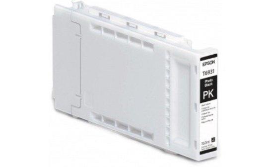 Epson T693100 UltraChrome XD Photo Black Ink Cartridge (350ml)