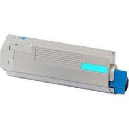 Oki MC760/MC770/MC780 Standard Capacity Laser Cyan Toner Cartridge