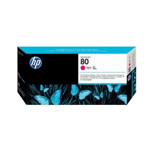 HP 80 Magenta Printhead with Cleaner - C4822A