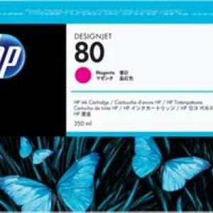 HP 80 Magenta Original Ink Cartridge - Standard Yield 175ml - C4847A