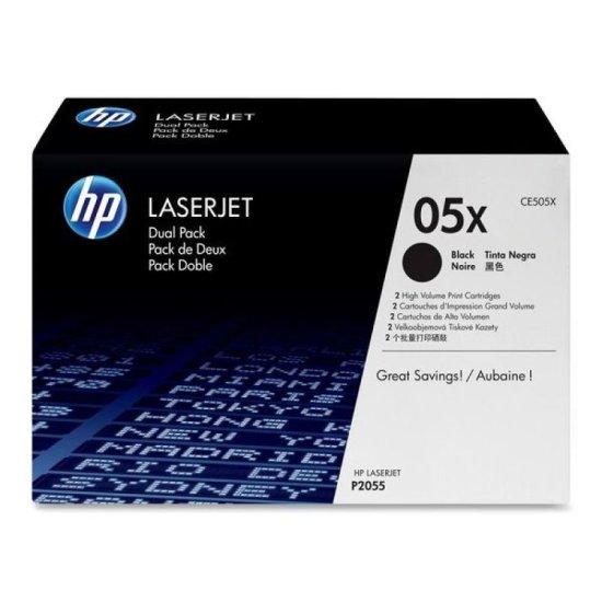 HP 05X Black Toner cartridge - CE505X