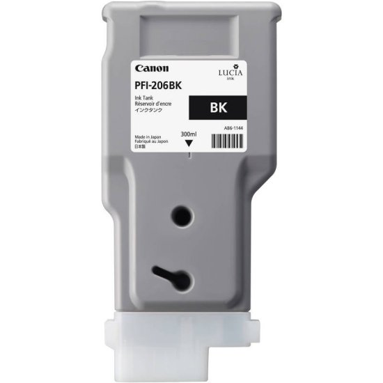 Canon Photo Black Ink Tank 300ml For IPF6400 - 5303B001AA