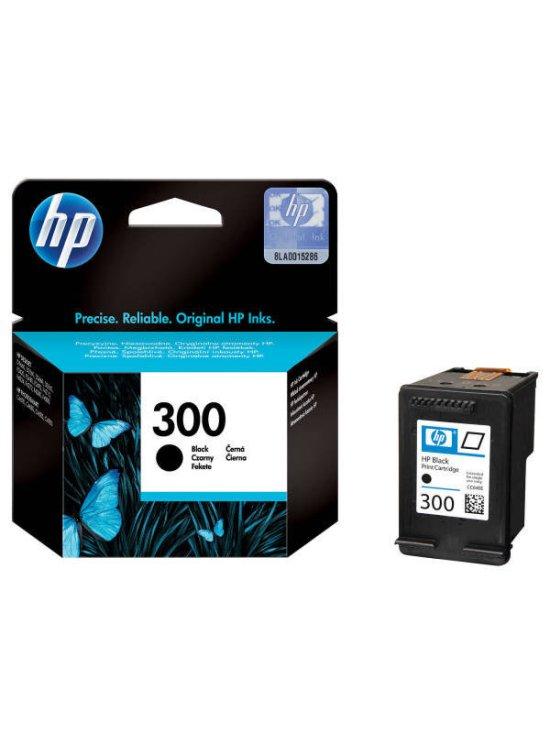 HP 300 Black Original Ink Cartridge - Standard Yield 200 Pages - CC640