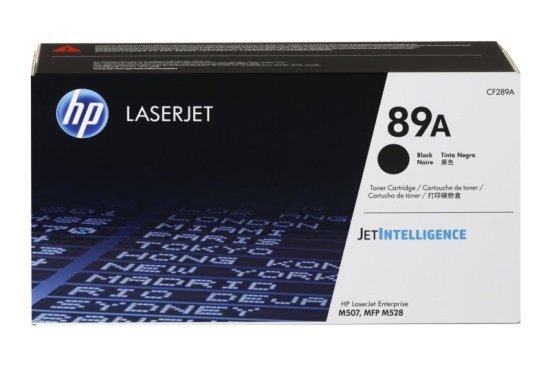HP 89A Black Original LaserJet Toner Cartridge (CF289A)