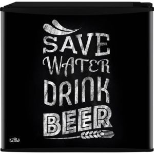Kuhla KTTF4BGB-1003 Mini Fridge with Ice Box - Save Water Drink Beer Design - A+ Rated