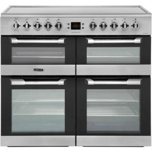 Leisure Cuisinemaster CS100C510X 100cm Electric Range Cooker with Ceramic Hob - Stainless Steel - A/A/A Rated