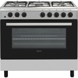 Electra SDF90SS 90cm Dual Fuel Range Cooker - Stainless Steel - A Rated