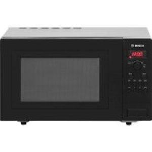Bosch HMT84M461B 25 Litre Microwave - Black   AO SALE