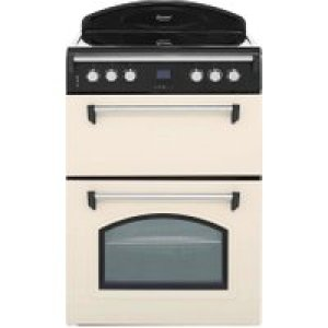 Leisure Gourmet GRB6CVC 60cm Electric Cooker with Ceramic Hob - Cream - A/A Rated   AO SALE