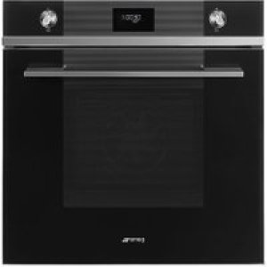 Smeg Linea SF6101TVN1 Built In Electric Single Oven - Black - A+ Rated AO SALE